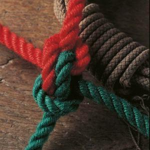 Кунгурский узел,узел Цеппелин,веревка,вязать,ходовой конец,Kungursky knot,Чарлз Розендаль